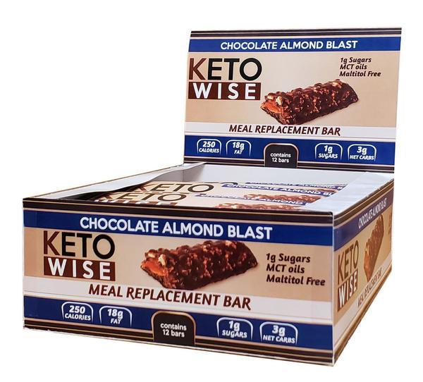 Keto Wise Almond Meal Blast - Ketó millimál - Prótein