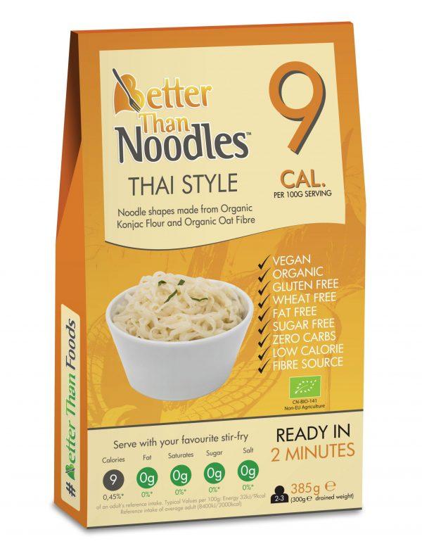 LKL & Ketó Thai Núðlur - Low Carb Noodles