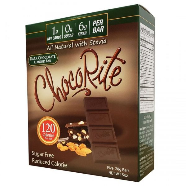 Dark Chocolate Almond - Low Carb - Lág Kolvetna
