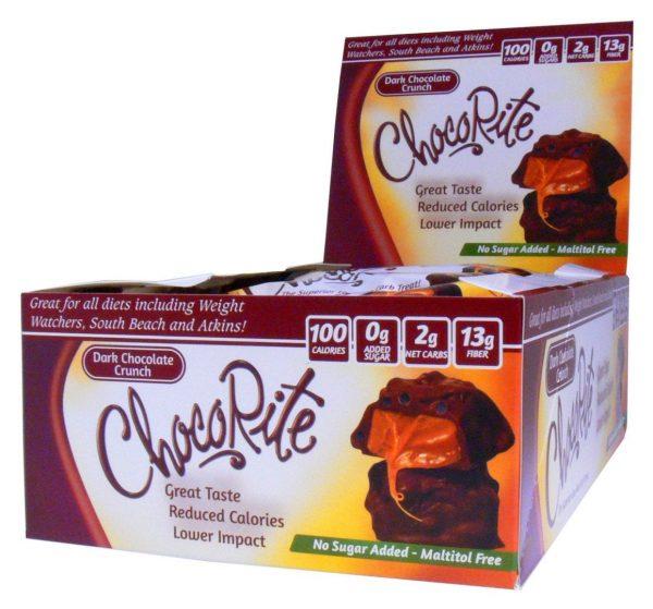 Dark Chocolate Crunch - Low Carb nammi